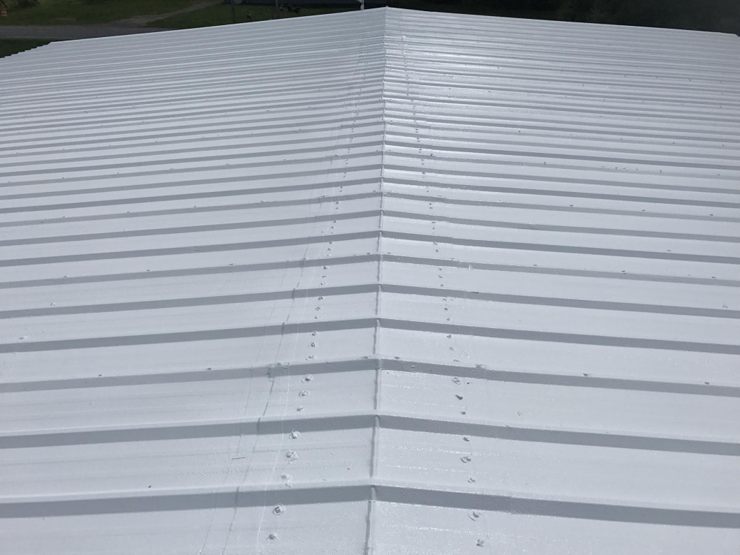 What's involved in our metal roof restoration?